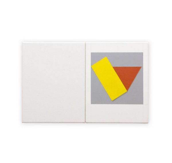 Yellow with Red Triangle