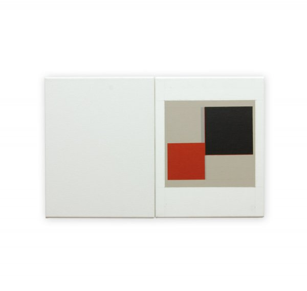 Black Square with Red